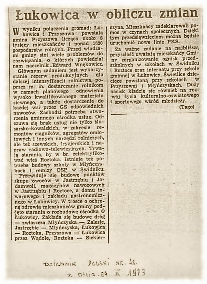 Dziennik Polski 24-02-1973