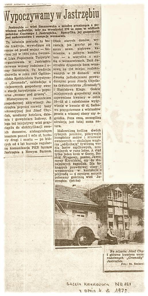 Gazeta Krakowska 04-07-1972