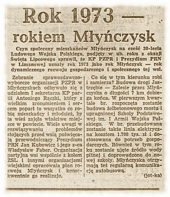 Gazeta Krakowska 16-01-1973