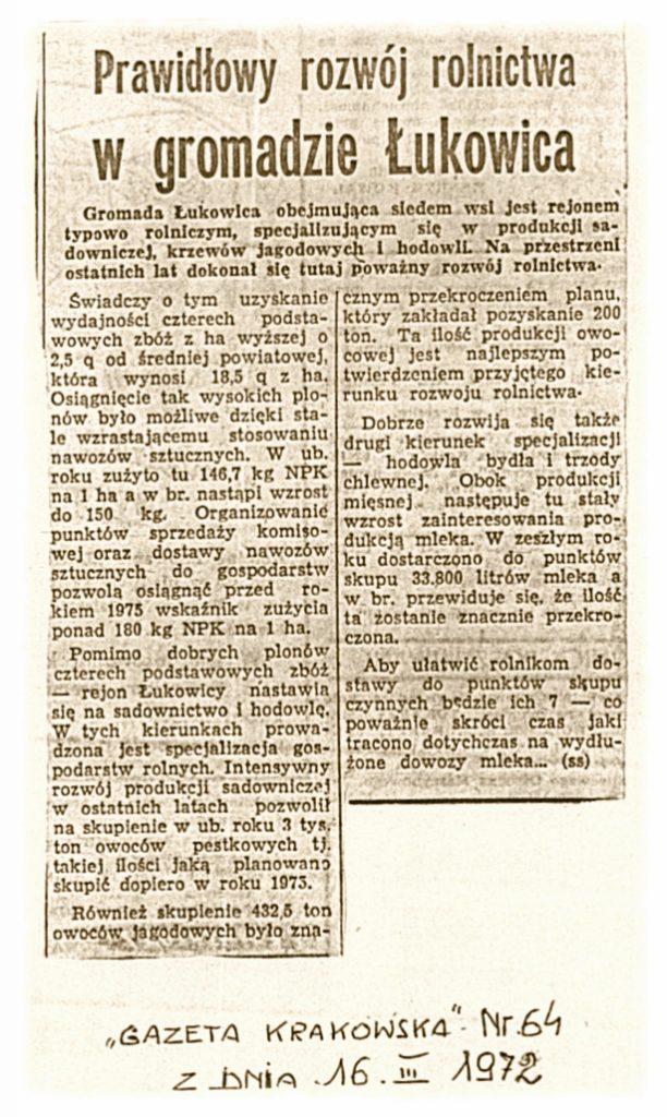 Gazeta Krakowska 20_03_1972