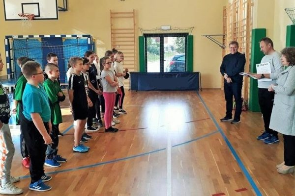 Igrzyska Szkolne-turniej tenisa stołowego