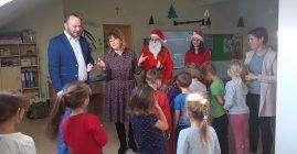 Mikołaj odwiedził Przedszkole Samorządowe w Łukowicy