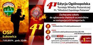 41 Turniej Wiedzy Pożarniczej