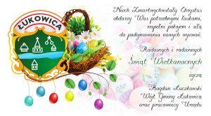 Wielkanoc - Życzenia Wójta z pracownikami