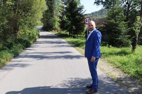 Remont drogi gminnej w Młyńczyskach