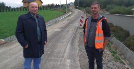 Trwają prace przy drodze gminnej w Świdniku
