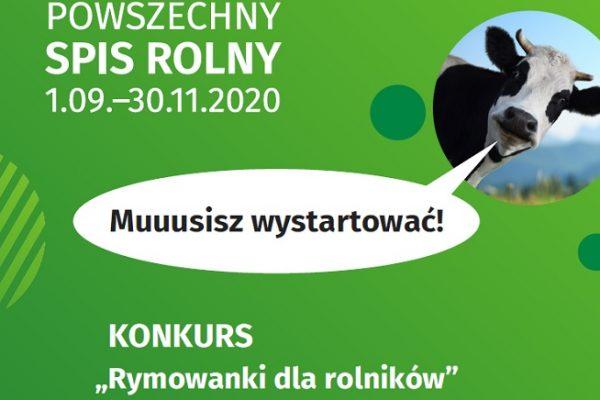 """PSR – konkurs dla przedszkoli """"Rym owanki dla rolników"""""""