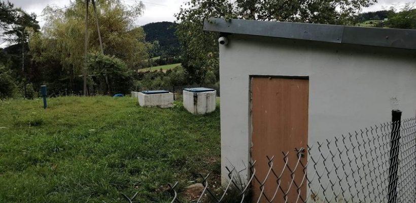 Zabezpieczenie wodociągu w Młyńczyskach