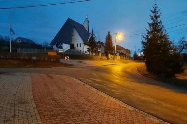 Nowe oświetlenie w Stroniu