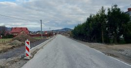 Przebudowa drogi Przyszowa-Berdychów