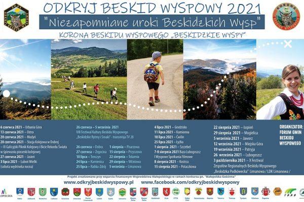 XII edycja akcji ODKRYJ BESKID WYSPOWY 2021