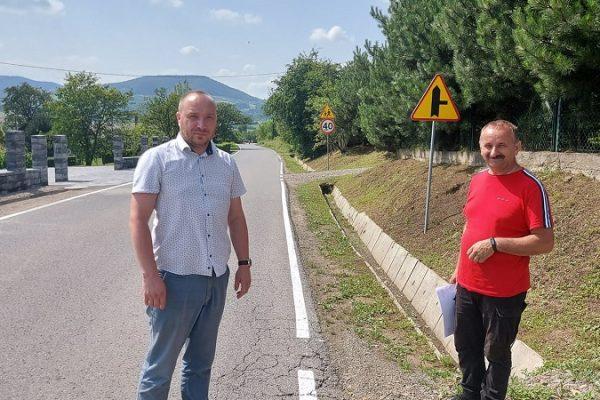 Przebudowa drogi w Stroniu