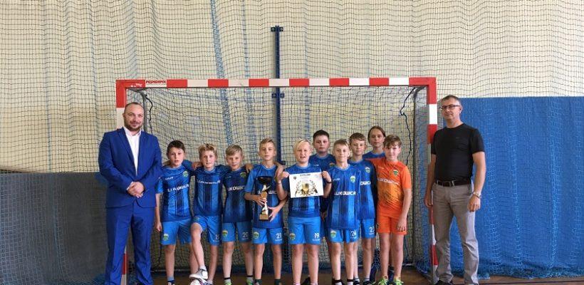 Gminne Igrzyska-halowa piłka nożna chłopców