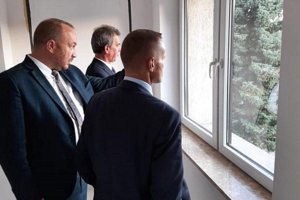 Wizyta Wojewody Józefa Leśniaka